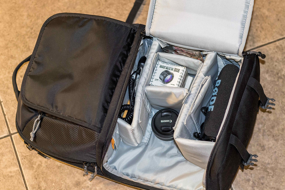 What's inside our Lowepro Camera backpack for Astrophotography