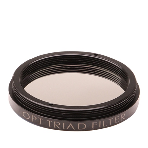 OPT TRIAD Light Pollution filter for backyard Astrophotography from the city, works with DSLR cameras and telescopes