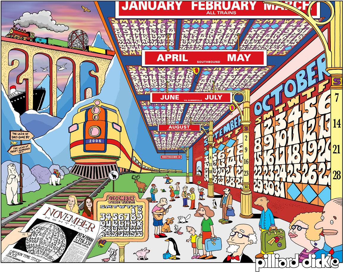 The Train Calendar