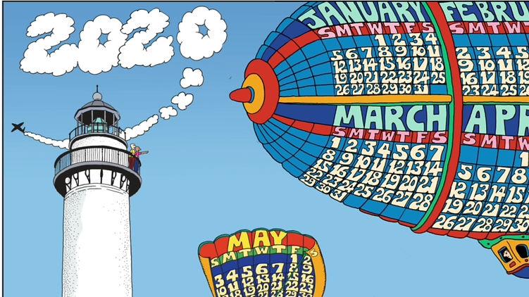 2020 St. Simons Island Calendar