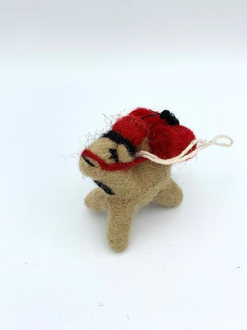 Mini Camel in a mini Fez