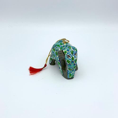 Floral Hanging Elephant