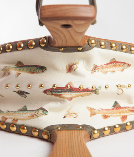 Coll with Fish and Pheasant range and brass studs