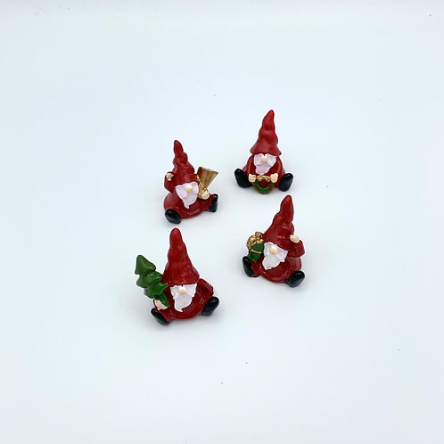 Four Nordic Gnomes