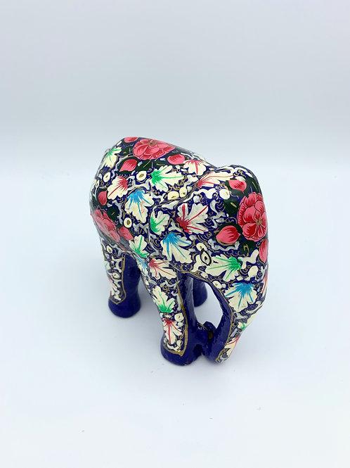 Large Floral Elephant