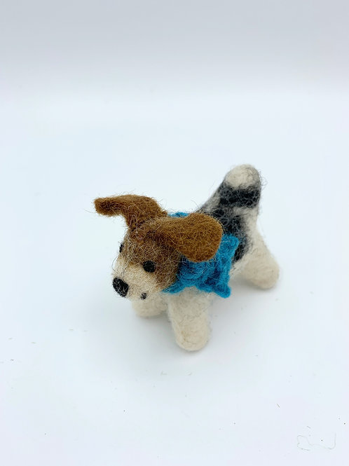 Mini Felt Fox Terrier