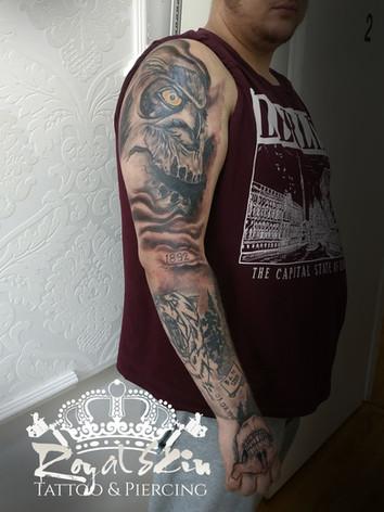 Berlin Royal Skin tattoo Berlin Royal Sk