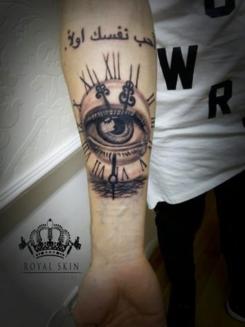 Berlin Royal Skin tattoo james clark eye