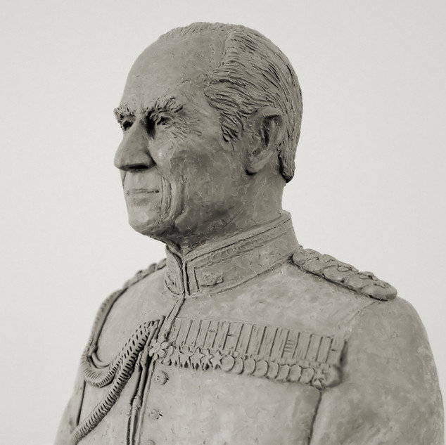 Maquette for bust