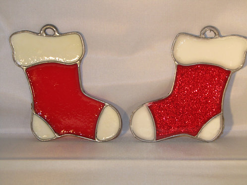 Hand Crafted Xmas Decoration- Stocking