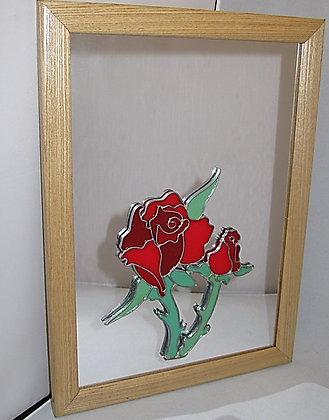 Decorative Mirror - Roses