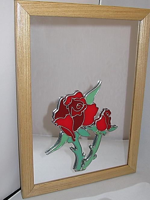Decorative Mirror - Roses