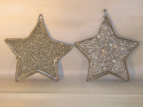 Hand crafted Xmas Decorations - Stars