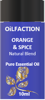 Orange and Spice Pure Essential Oil Blend