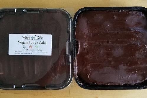 Fudge Cake-Gluten Free Vegan