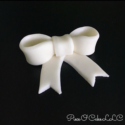 Bow Cupcake Toppers (12 count)