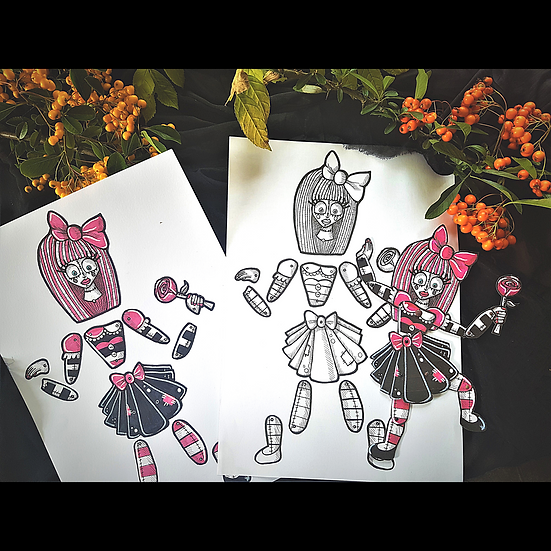 DIY Rag Doll Halloween Puppet Download