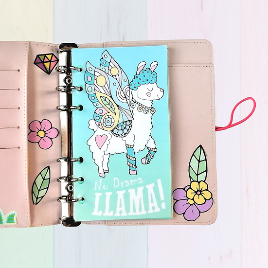 Llama Planner Dashboard For A5, A6, B6, Personal and Pocket Size Planners