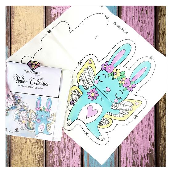 DIY Rabbit Cushion Craft Kit