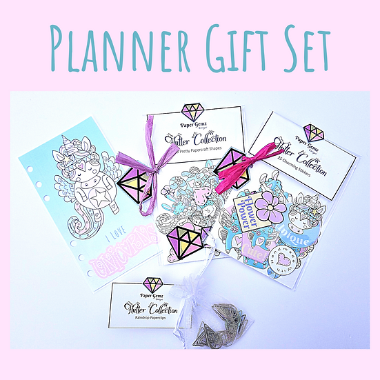 Unicorn Planner Gift Set