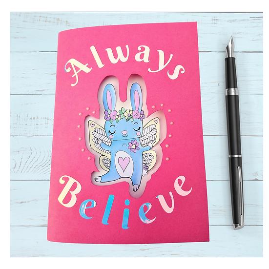 Rabbit Sketchbook Notebook