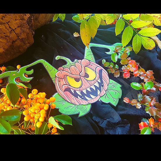 DIY Pumpkin monster Halloween Puppet Download