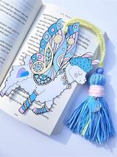 llama bookmark