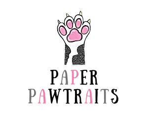 Paper Pawtraits, Pet Portraits, stationery and gifts, home page