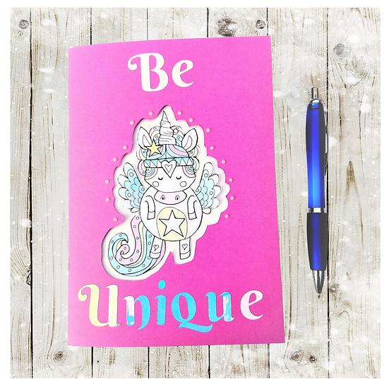 Unicorn Sketchbook Notebook