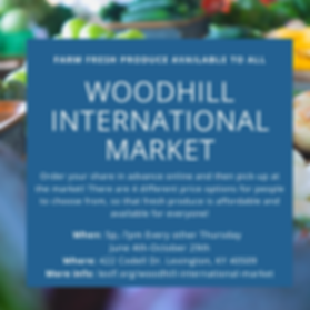 Woodhill International Market