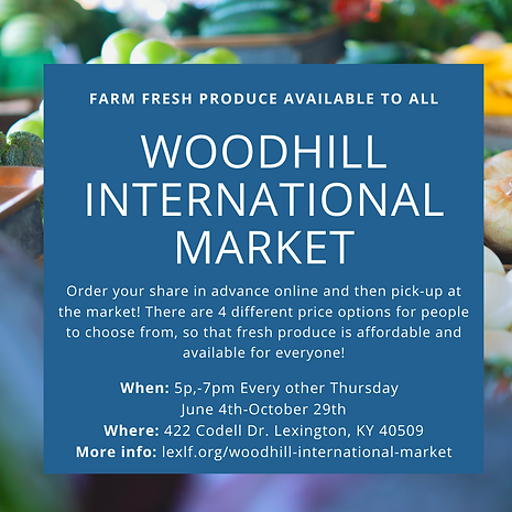 Woodhill International Market