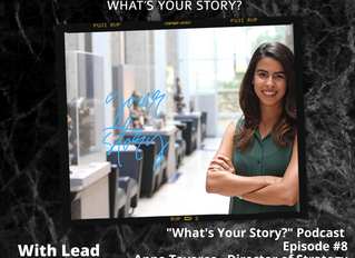 What's Your Story Podcast: Episode #8 - Anna Tavares, Director of Strategy Vendasta