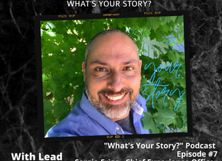 What's Your Story Podcast: Episode #7 - Sergio Frias, Chief Experience Officer CIMMO