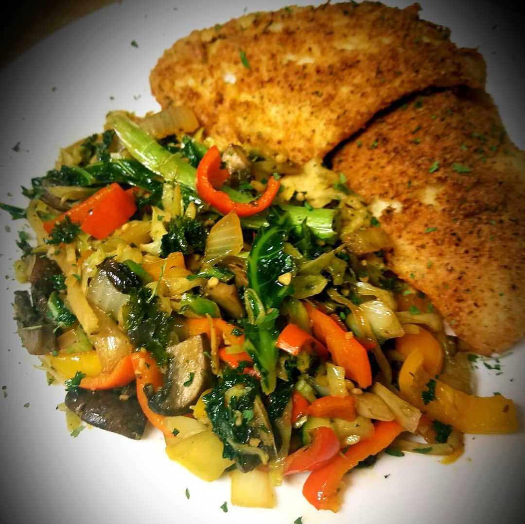 Orange Roughy & Mixed Veggie