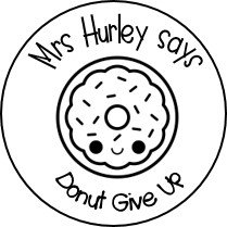 Colour Me In! Personalised Donut Stickers