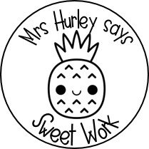 Colour Me In! Personalised Sweet Pineapple Stickers