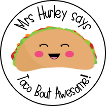Personalised Taco Stickers