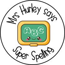 Personalised Super Spelling Stickers