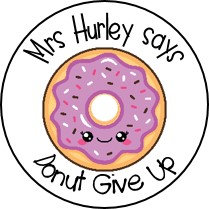 Personalised Donut Stickers