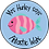 Thumbnail: Personalised Fish Stickers (Blue Background)