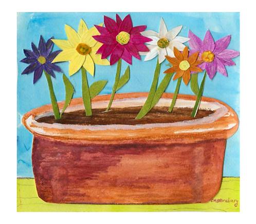 Pot o Flowers