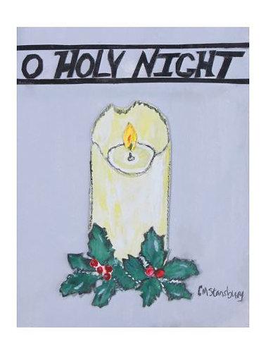 O Holy Night Candle