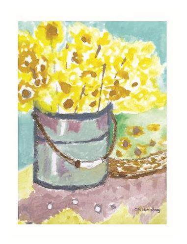 Bucket o Flowers