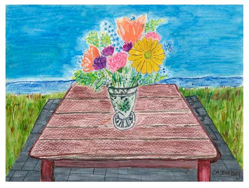 Vase o Flowers
