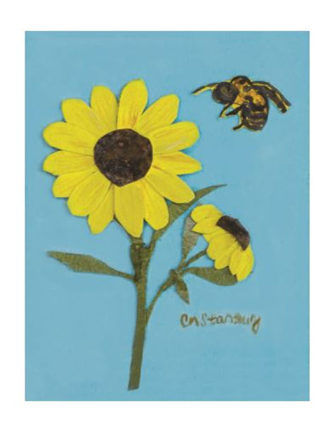 Sunflower with Bee.JPG