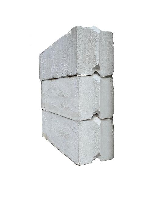 """V"" shaped Interlock Block | 2' x 2' x 6'"