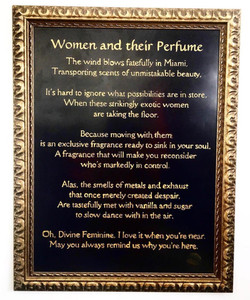 Women and Their Perfume