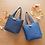 Thumbnail: DENTRA Japanese traditional fabric mini tote bag - Kurashiki