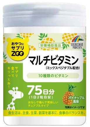 Supplement ZOO Series For Snacks Multivitamin 150T