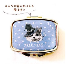 NEKO WORK Accessory case cat - Wizard